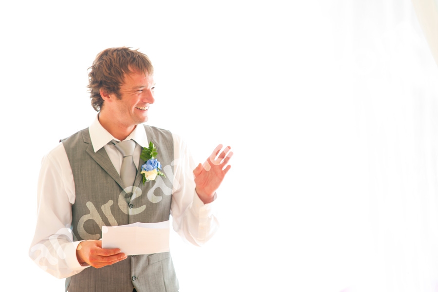 The best man and his speech