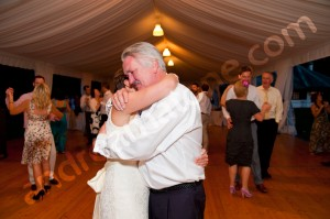 Wedding dance party father and daughter moved touched