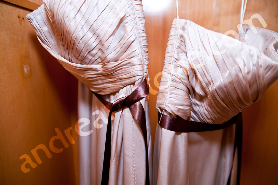 Wedding gowns bridesmaids Tuscany Italy