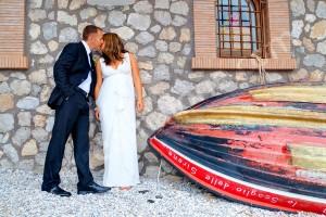 Wedding photographer shoot at Lo Scoglio delle Sirene sull'isola di Capri