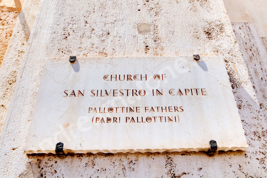 Church of Saint Silvestro. Pallottine Fathers (Padri Pallottini)