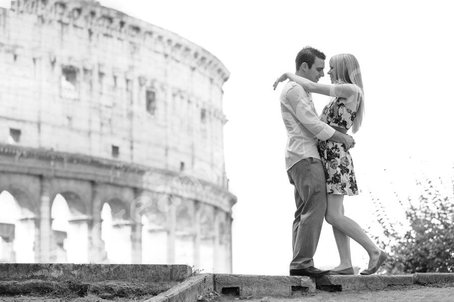 Romantic image taken at the Coliseum