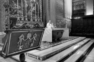 Church wedding celebrated in the Vatican in Rome