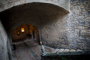 Castello Odescalchi Italy internal courtyard
