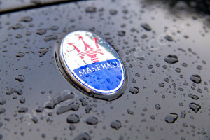 Maserati Italian car for hire in Rome with a personal driver