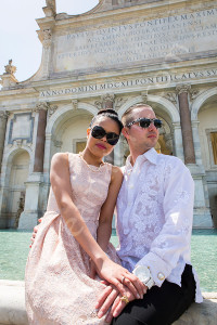 Couple photographer session in Rome Italy