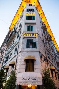 Hotel Atlantic restaurant Les Etoiles Roof Garden Rome