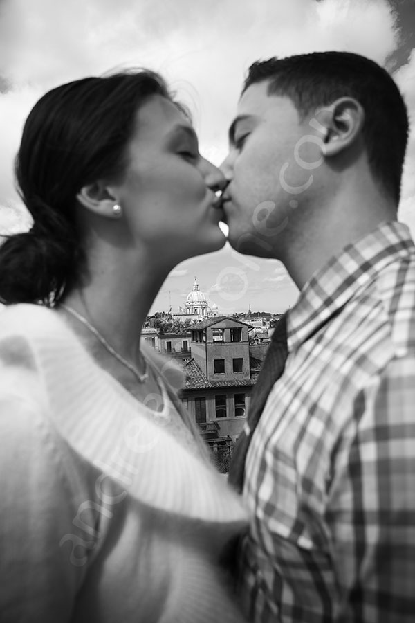 Engagement wedding photographer Rome Italy