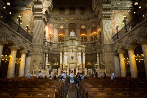 Great Synagogue Rome internal image