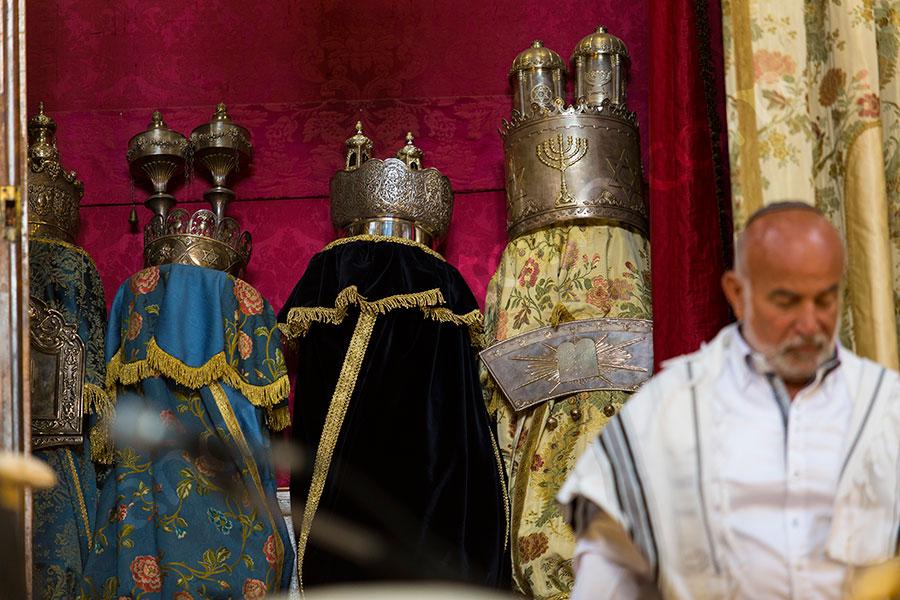 Jewish matrimonial ornaments.