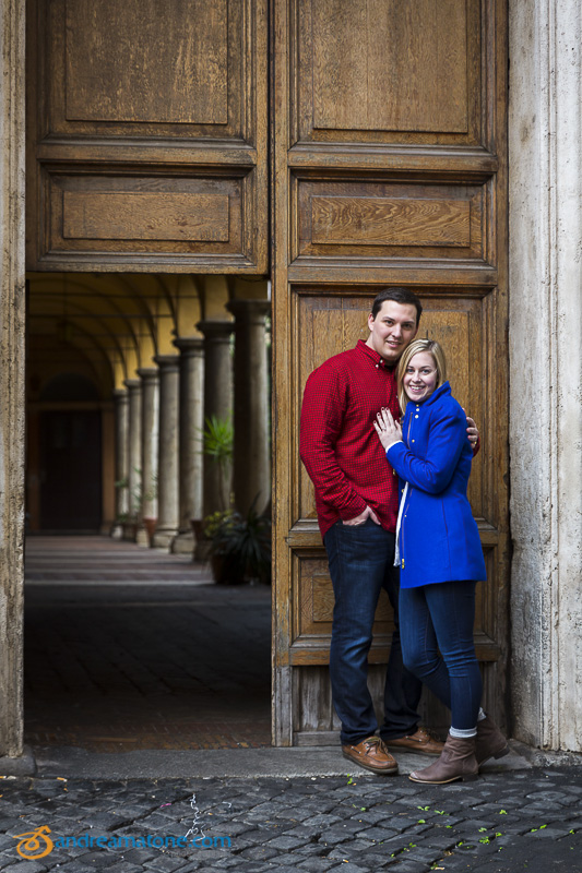 Couple portrait session in Italy.