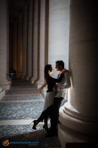 Flash night time wedding photographer from Rome Italy.