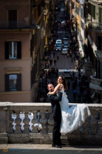 Final photographer service picture in Rome.