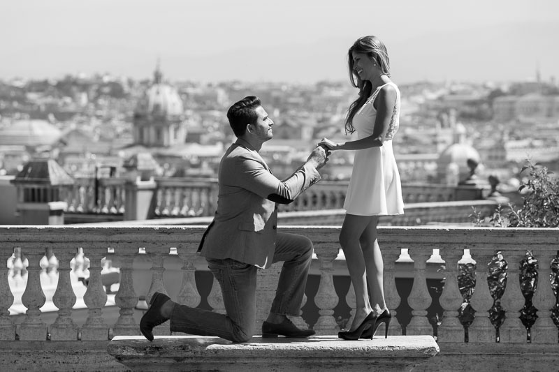 Proposal picture in black and white