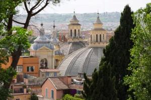 The Twin Churches found in Piazza del Popolo