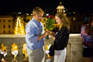 Couple engaged to be married