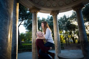 Fun pictures of a coupe during their engagement session.