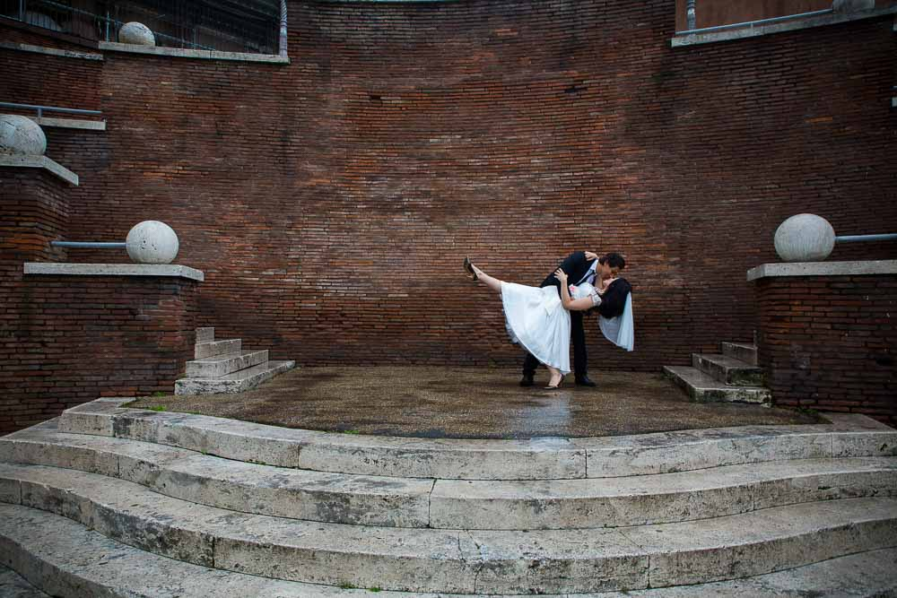 Wedding photographed in central Rome by Andrea Matone photographer.