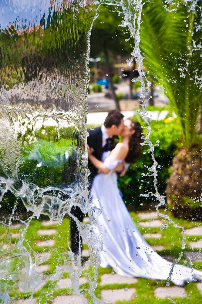 49 Water fall wedding
