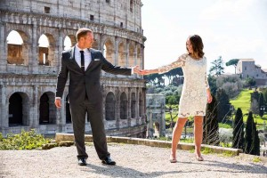 Photo shoot a the Colosseum