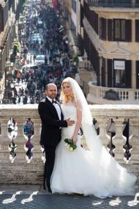 Portraits taken at Piazza di Spagna