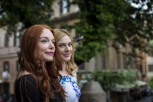Two girl friends portrait session