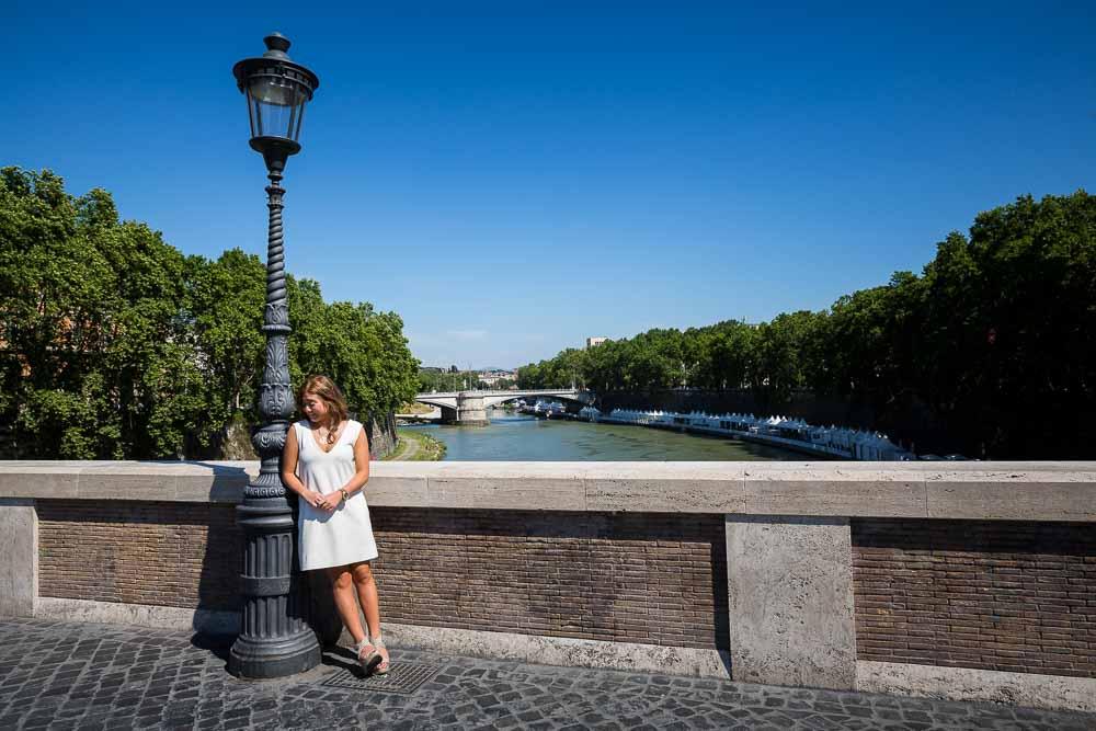 Ponte Sisto photo session on the bridge