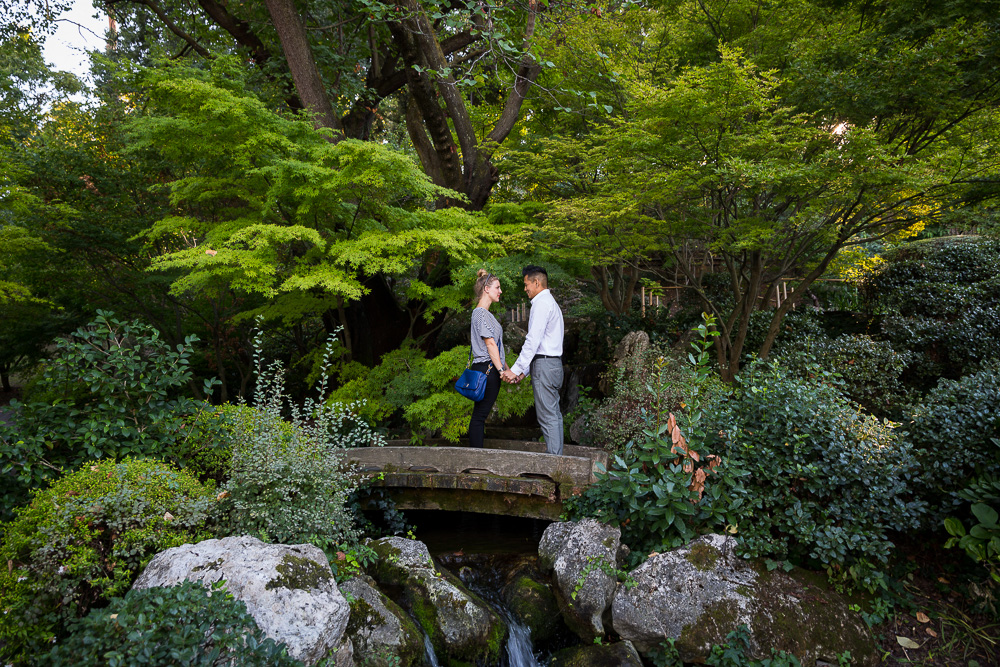 Botanic Garden engagement session in Rome Italy