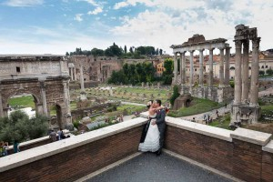 Final image at the Roman Forum