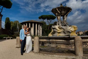 The fountain of Bocca della Verita