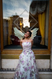 Angelic picture of a bride