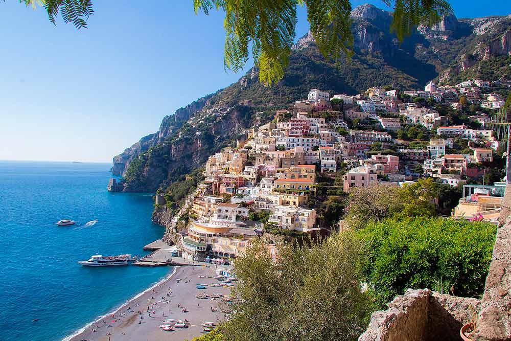 The town of Positano. Wedding Photographer Amalfi coast.