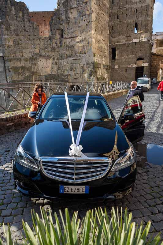 The wedding car service
