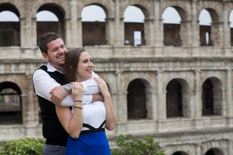 Portrait picture at the Colosseum