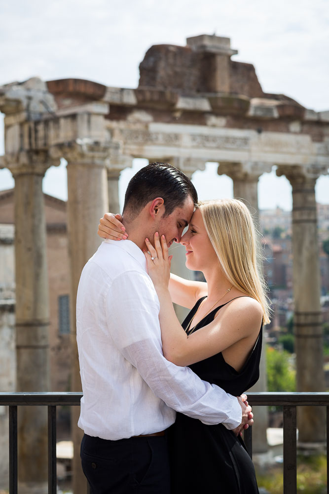 Engagement photography session in Rome Italy. Image by Andrea Matone photographer