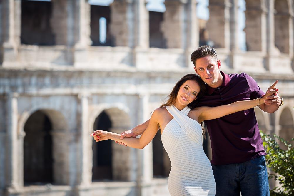 Fun and love in Rome