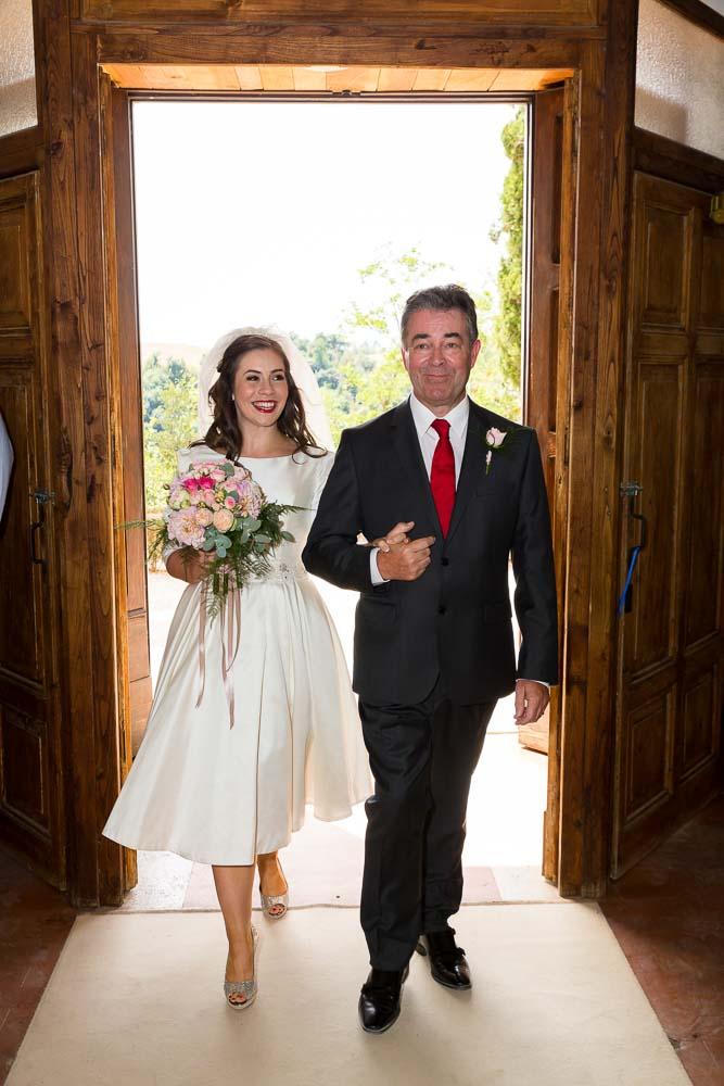 Enter the bride