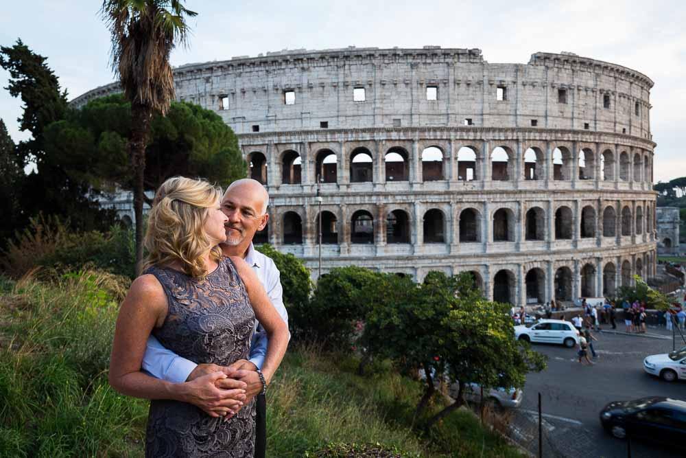Portrait picture at the Coliseum