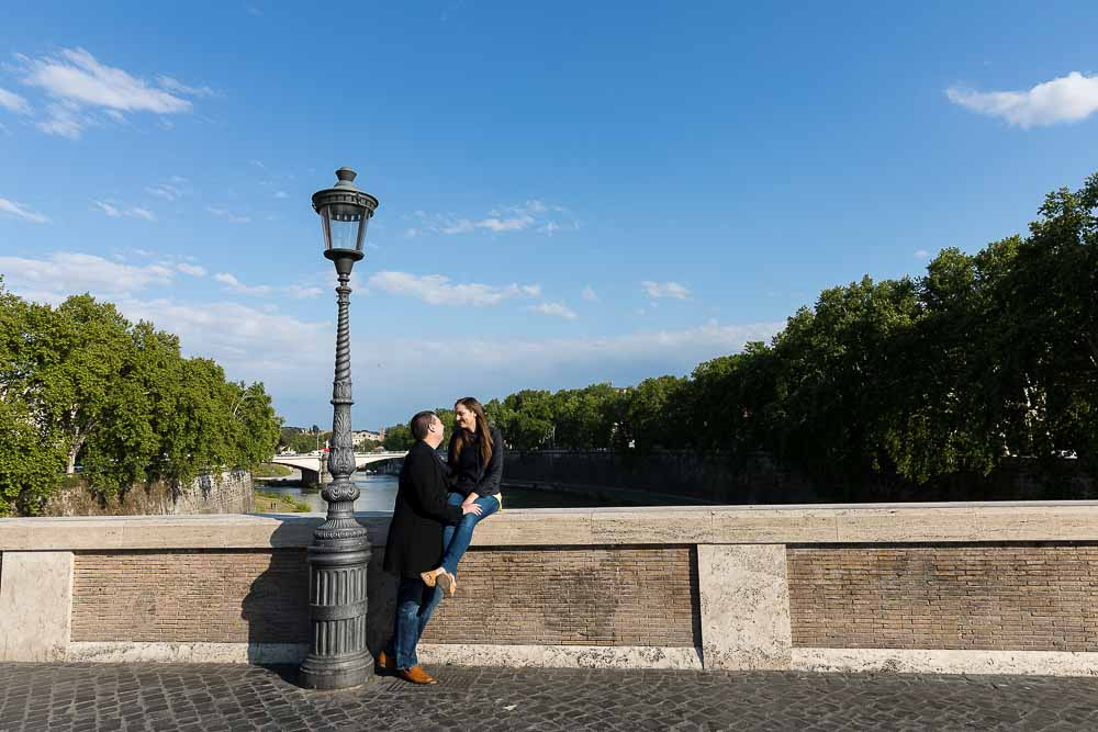 Ponte Sisto bridge photo session