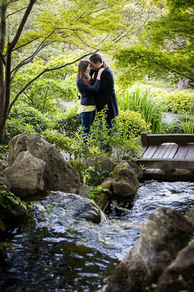 Romance in the Japanese garden