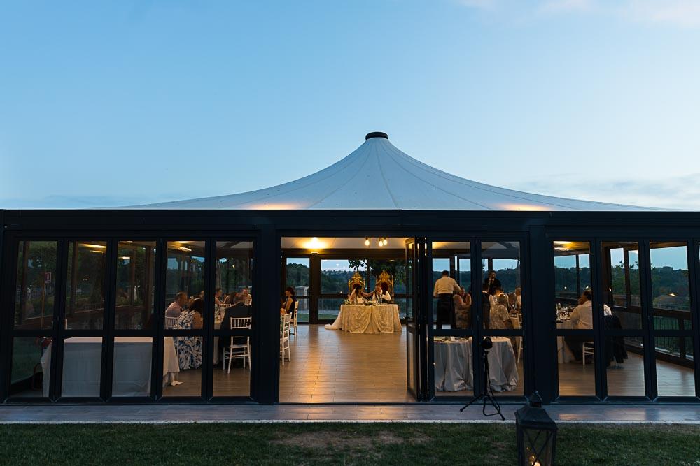 The venue reception