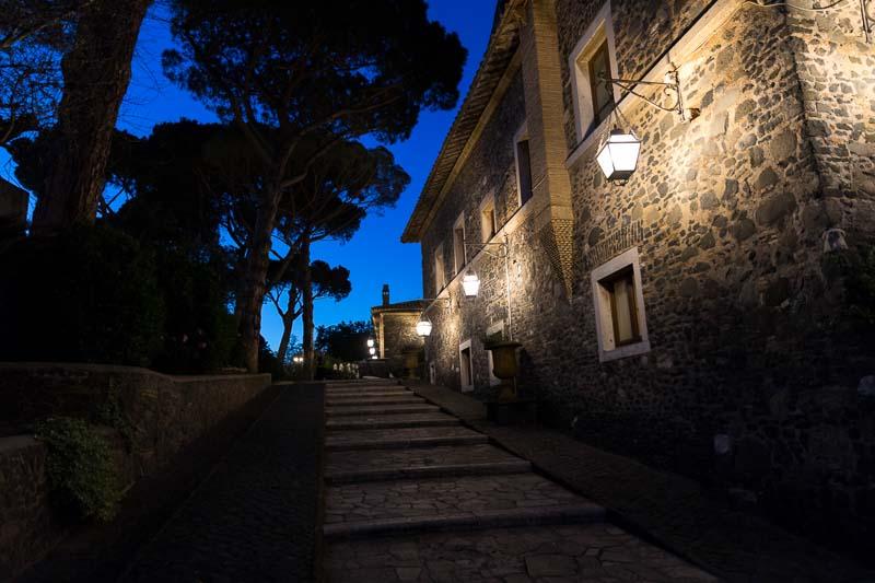 Castello della Castelluccia nighttime exterior pictures