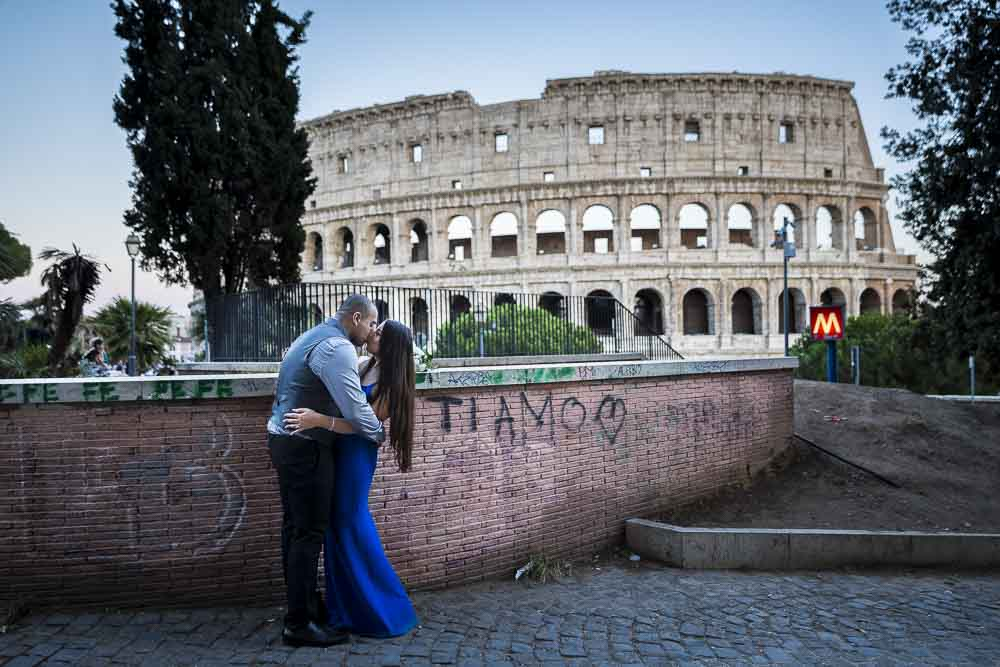 Ti Amo I love you photo session in Rome