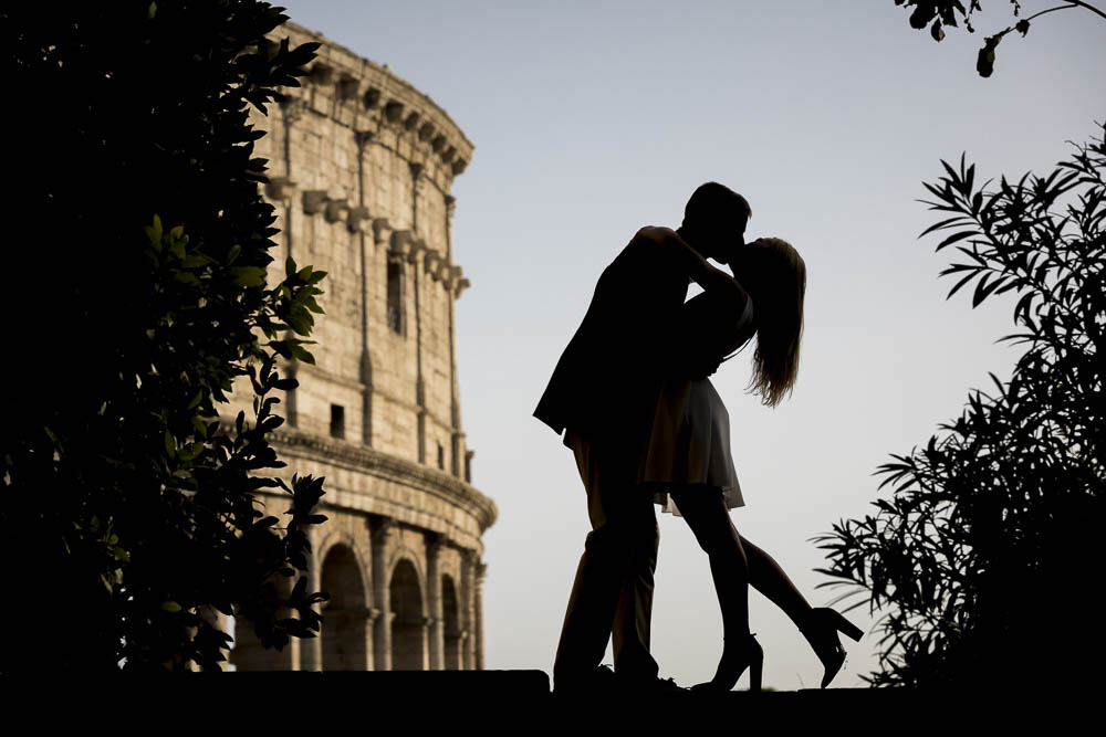 Rome Photoshoot Couple Engagement session