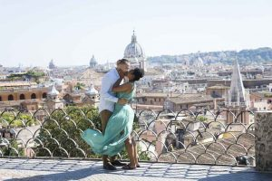Engaged to married in Rome