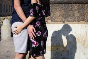 In love shadows