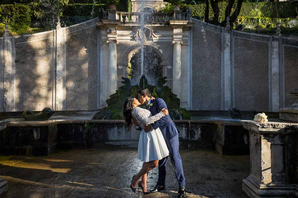 Newlyweds photo session Villa Este
