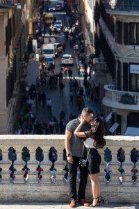 Piazza di Spagna image with Via Condotti in the far distance