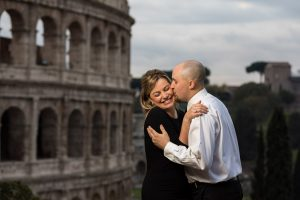 Picture portrait of couple