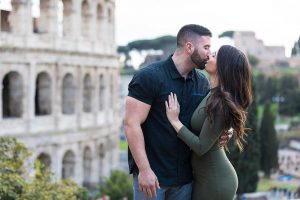 Just engaged in Rome Italy